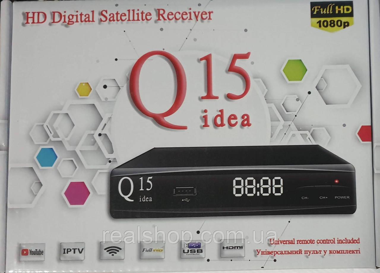 Q-sat Q-15 HD ресивер + пульт обучаемый + бесплатная прошивка!