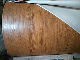 Гладкий лист Дерево 3D 1.25 м х 2,0 м Китай 0.4 мм