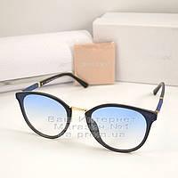 Женские солнцезащитные очки Jimmy Choo круглые голубая линза Джимми Чу Модные Брендовые 2020 реплика