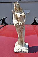 Статуетка - грошовий оберіг богиня Фортуна, колір - слонова кістка, висота 31 див., фото 1