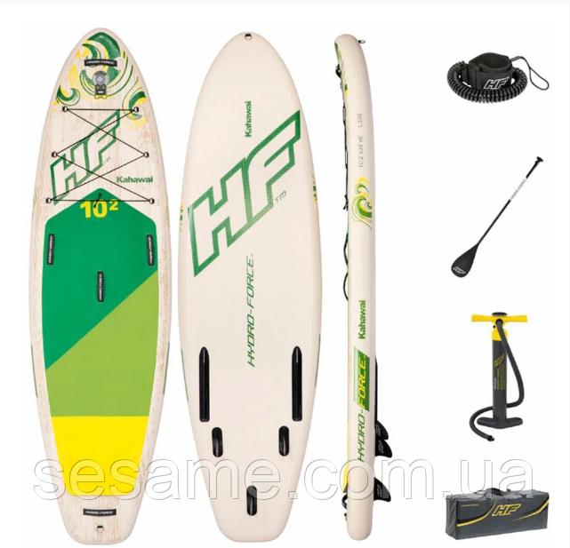 Надувная SUP-доска  Bestway SUP-БОРД Kahawai Set 65308 Надувная доска для серфинга SUP Hydro Force