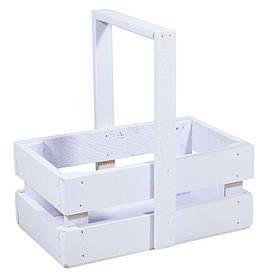 Ящик бузковий дерев'яний маленький BW-03