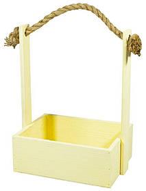 Ящик пісочний дерев'яний BW-07 (25х19х9,5см H-35)