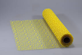 Сітка жаккард жовта, Unison, 0815-28-1