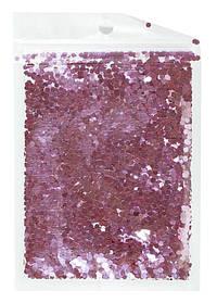 Конфетті шестигранник, рожевий 3мм, 15гр