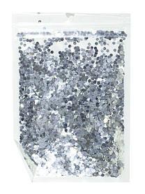 Конфетті шестигранник, срібло 3мм, 15гр