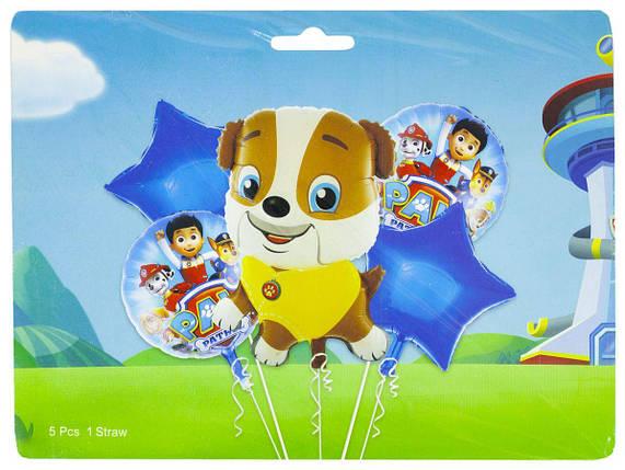 Набор из 5 шариков, щенячий патруль Маршал, 836913, фото 2