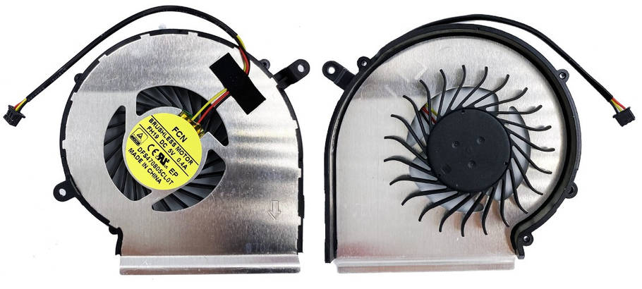 Вентилятор MSI GE62 GE72 GL62 GL72 GP62 GP72 PE60 PE70 левый+правый Original 3pin, фото 2