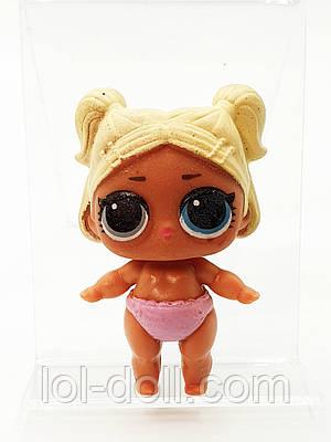 Кукла LOL Surprise 4 Серия Lil Scribbles - Сестра Мальчика Under Wraps Лол Сюрприз Без Шара Оригинал