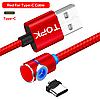 Магнитный Type-C кабель TOPK AM51 Red