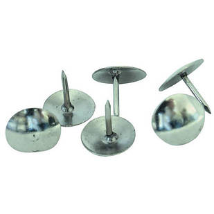 Кнопки канцелярские металлические 50шт