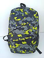 Рюкзак городской / спортивный молодежный с принтом Хаки разноцветный
