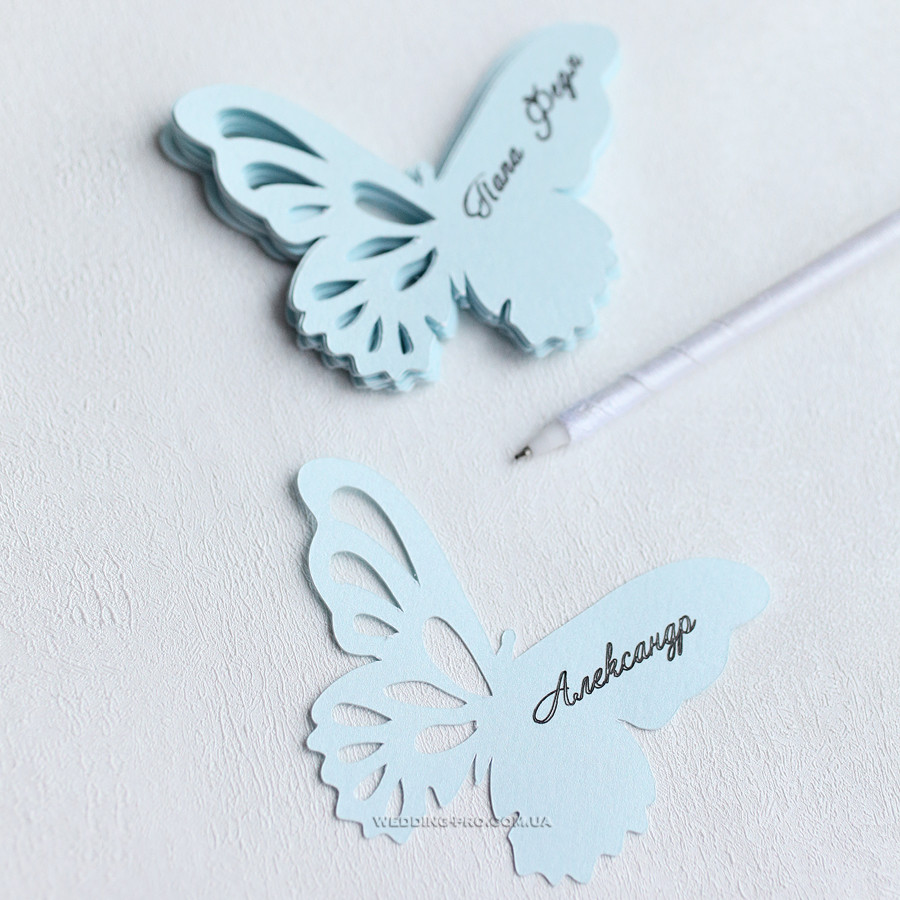 """Розсадочні картки """"Метелик"""""""