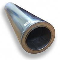 Труба двустенная для дымохода 1 м 350/420 н/оц 0,8 мм