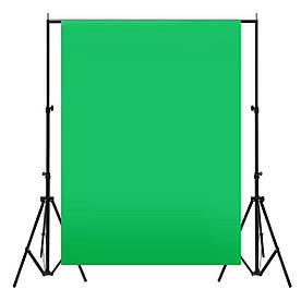 Фон тканевый хромакей 4 х 1.5 м Зеленый (R0551)