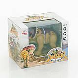 Динозавр WS 5301 (24/2) 35 см, ходит, подсветка, звук, 2 вида, в коробке, фото 3