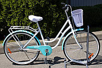"Велосипед женский AIST AVENUE ""26 CTB с корзиной"