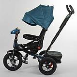 Велосипед 3-х колёсный 6088 F - 02-940 Best Trike (1) ФАРА С USB, ПОВОРОТНОЕ СИДЕНИЕ, СКЛАДНОЙ РУЛЬ, РУССКОЕ, фото 4