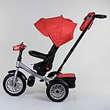 Велосипед 3-х колёсный 9288 В - 3696 Best Trike (1) ПОВОРОТНОЕ СИДЕНЬЕ, СКЛАДНОЙ РУЛЬ, РУССКОЕ ОЗВУЧИВАНИЕ,, фото 4