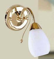 Настенный светильник TINKO 908CG/1WWT золото