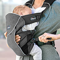 Эрго нагрудная рюкзак-кенгуру для младенцев Chicco Ultrasoft Magic Серый (878572021)