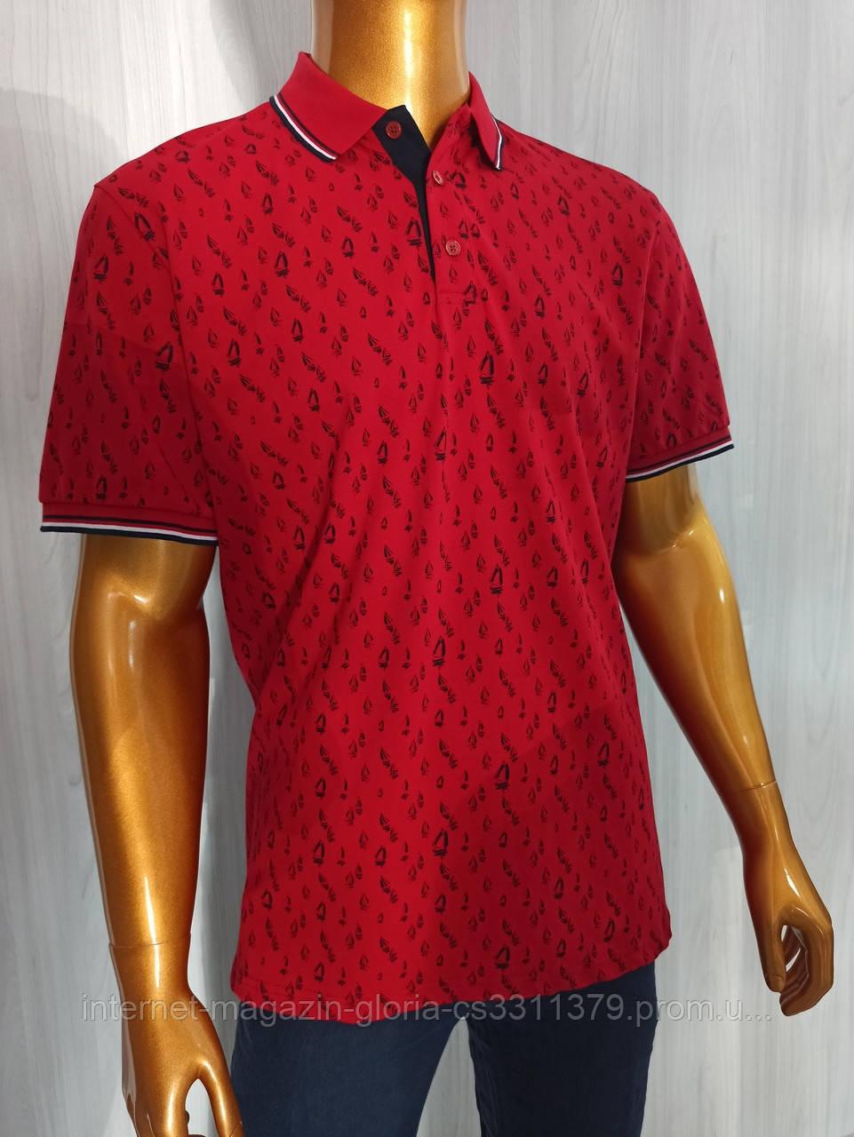 Мужская футболка поло Tony Montana. PSL-3266(b). Размеры: M,L,XL,XXL.