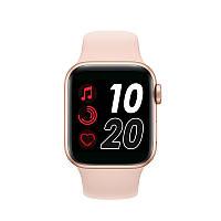 Смарт-часы Smart Watch IWO 12 series T500 с тонометром Gold/Pink (SW0001T500P)
