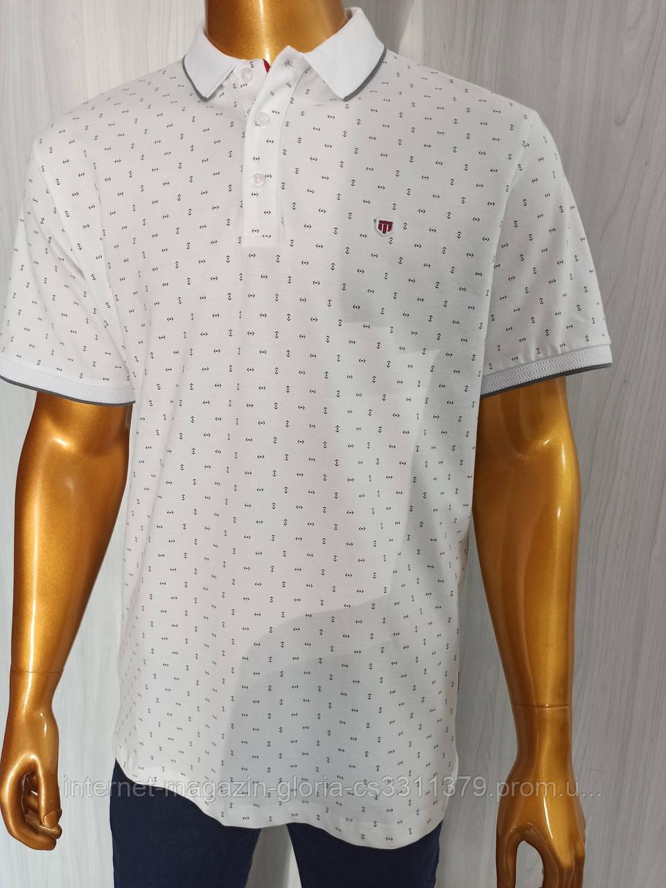 Мужская футболка поло Tony Montana. PSL-3232. Размеры: M,L,XL,XXL.