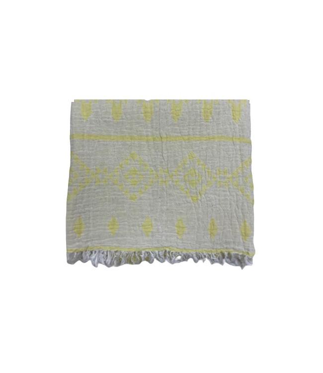Полотенце-пештемаль пляжное Gold Soft Life Sun 100*180 см желтое арт.ts-02329