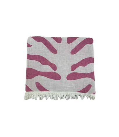 Полотенце-пештемаль пляжное Gold Soft Life Сафари 100*180 см розовое арт.ts-02300, фото 2