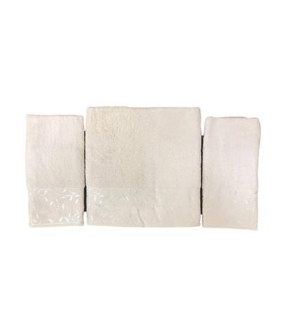 Набір рушників для обличчя і тіла Gold Soft Life For You 2х50*90 см + 70*140 см махрові банні в коробці персиковий арт.ts-02174, фото 2