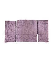 Набор полотенец для лица и тела Gold Soft Life For You 2х50*90 см + 70*140 см махровые банные в коробке
