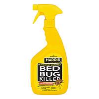Harris Bed Bug Killer Спрей от постельных клопов и блох, 946 мл (США)