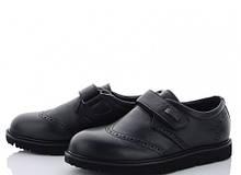 Туфли детские черные мальчик,туфли школьные мальчик, Clibee-Doremi-LD86-1