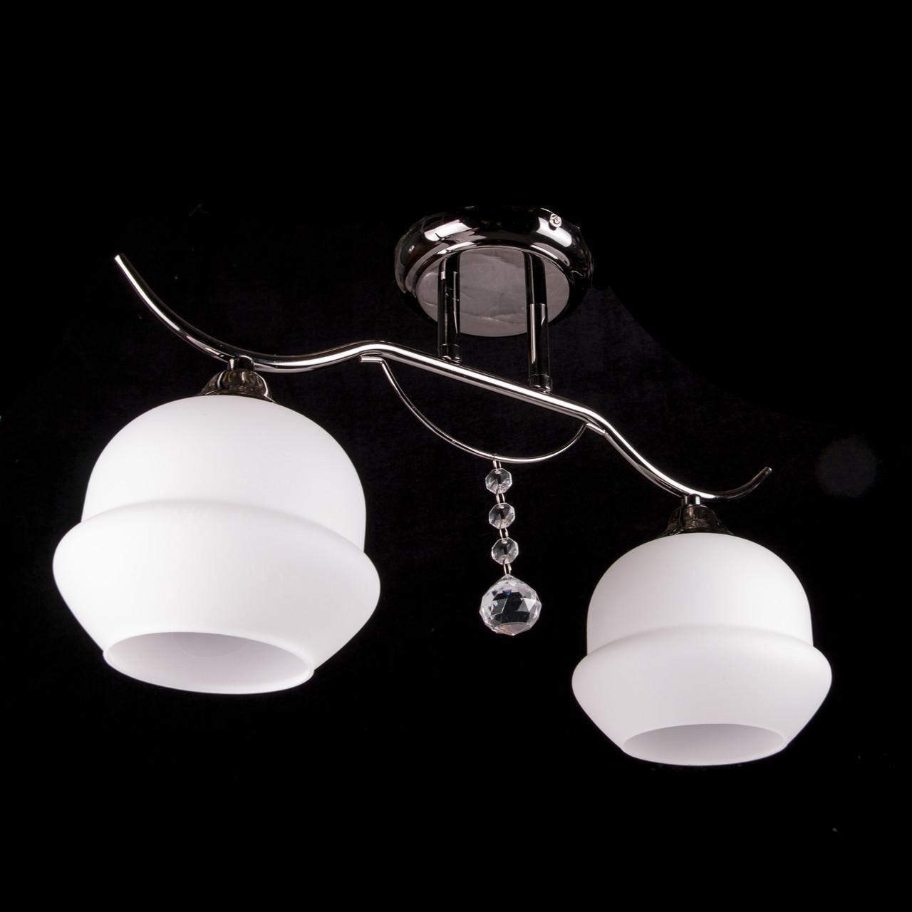 Стельова люстра на 2 лампочки P3-46671/2C/GM+MK