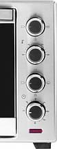 Електродуховка ECG ET 20482 Stainless 48 л, конвекція , веретено , подвійне скло, фото 3