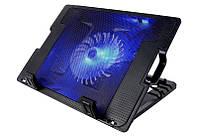 Охлаждающая подставка для ноутбука NBZ ErgoStand Cooling Pad кулер с подсветкой