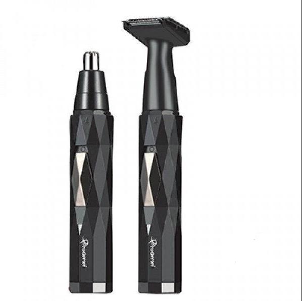 Триммер 2в1 Gemei GM-3121 аккумуляторный для носа и ушей, Гигиенический триммер