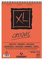 Альбом для эскизов Canson™ XL Croquis /90 g, A4, 120 листов на спирали/