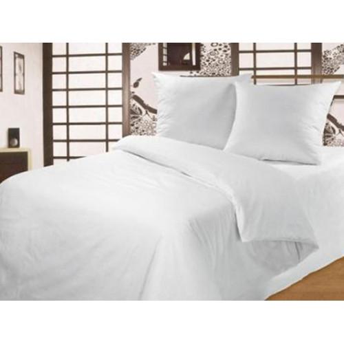"""Комплект постельного белья """"Белое"""" ТЕП бязь (100% хлопок) недорого."""