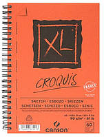 Альбом для эскизов Canson™ XL Croquis /90 g, A4, 120 листов на спирали по длине/