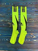 Гетры для футбола Adidas (Салатовые), фото 1