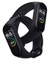 Фитнес-часы М4, смарт браслет smart watch, аналог mi band 4, треккер, сенсорные фитнес часы