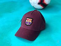 Бейсболка / кепка Барселона/FC Barcelona/мужская/женская/бордовая, фото 1