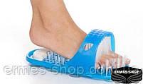 Массажный тапочек для душа с пемзой Easy Feet | Изи Фит, фото 2