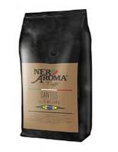 """Кава зернова ТМ """"Nero Aroma Caffè"""" SANTOS ALTA MOJANA 100% arabica"""
