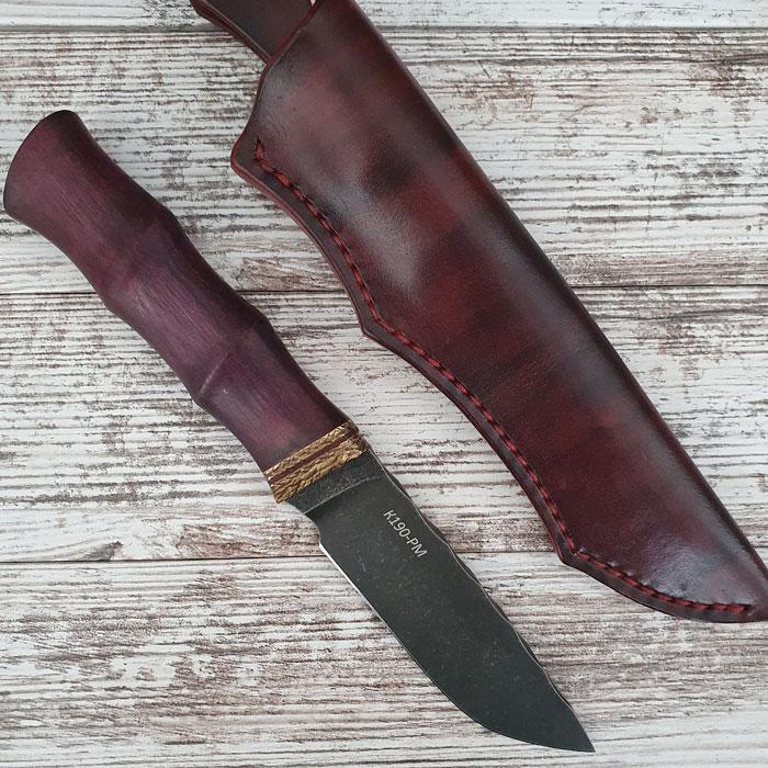 Нож ручной работы Crazy Cut (сталь K190-PM)
