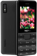 Мобильный телефон Tecno T372 Triple SIM Black