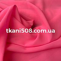 Шифон однотонный(Неон-Розовый)