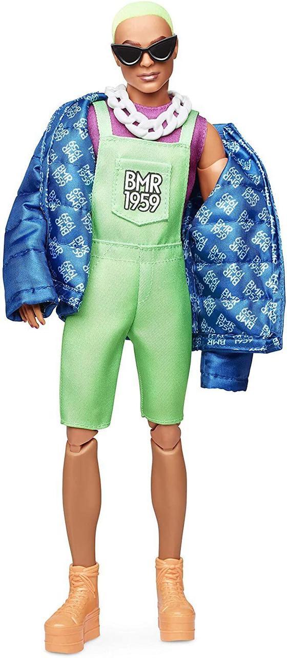 Колекційна лялька Барбі Barbie BMR1959 Кен Неон GHT96